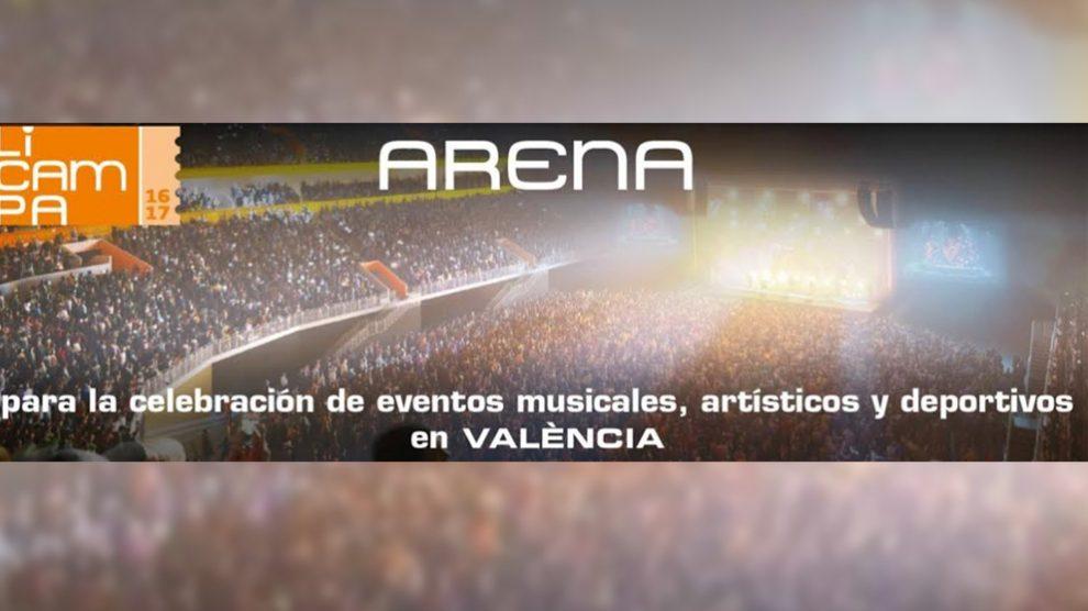 Pabellón Arena (Foto: EP)