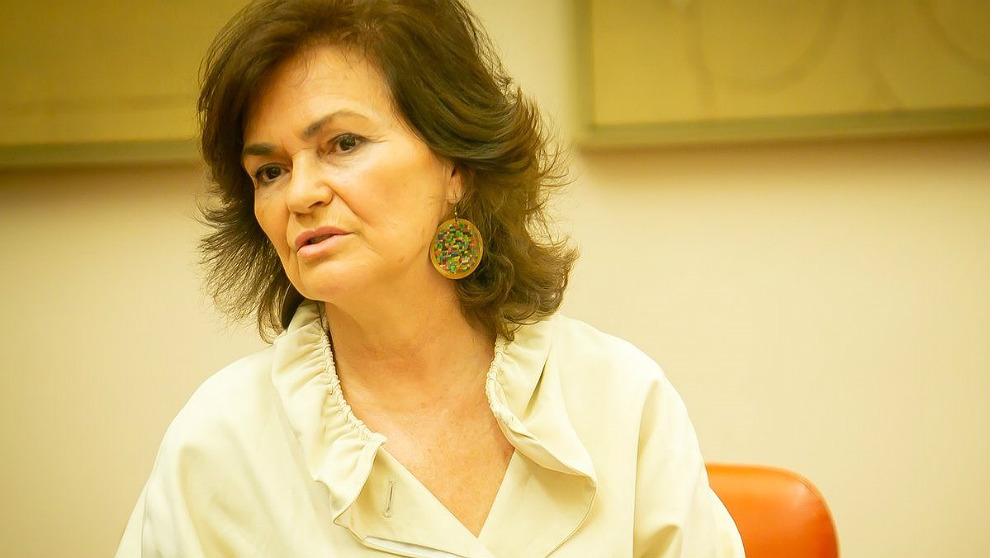 Carmen Calvo, vicepresidenta y ministra de Igualdad. (EP)