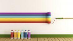 Pasos para pintar rayas horizontales en la pared de manera correcta