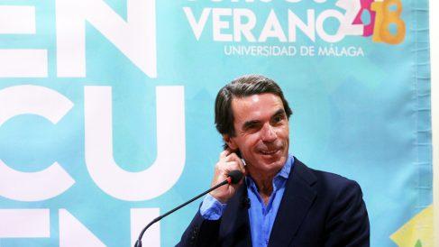 José María Aznar. (Foto: Europa Press)