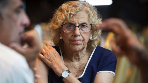Manuela Carmena en su periplo en Nueva York. (Foto. EP)