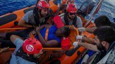 Marc Gasol (arriba en la imagen, con gafas), en el rescate.