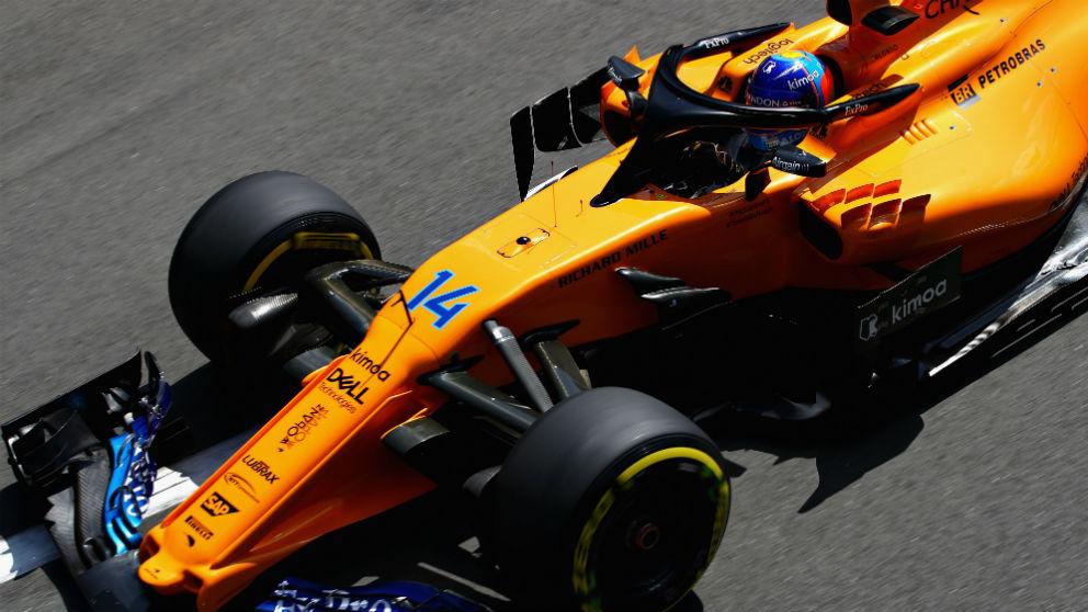 Zak Brown ha reconocido que el McLaren MCL33 es más débil que su predecesor en términos de aerodinámica. (Getty)