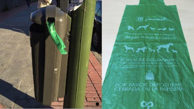 Carmena regala 84 millones de bolsas de plástico al año pese a la prohibición de la UE