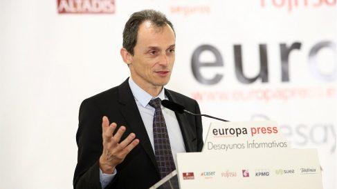 Pedro Duque, ministro de Ciencia y Universidad. (EP)