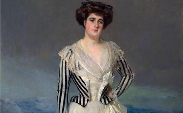 Retrato de la María Luisa Maldonado. Sorolla (1907)