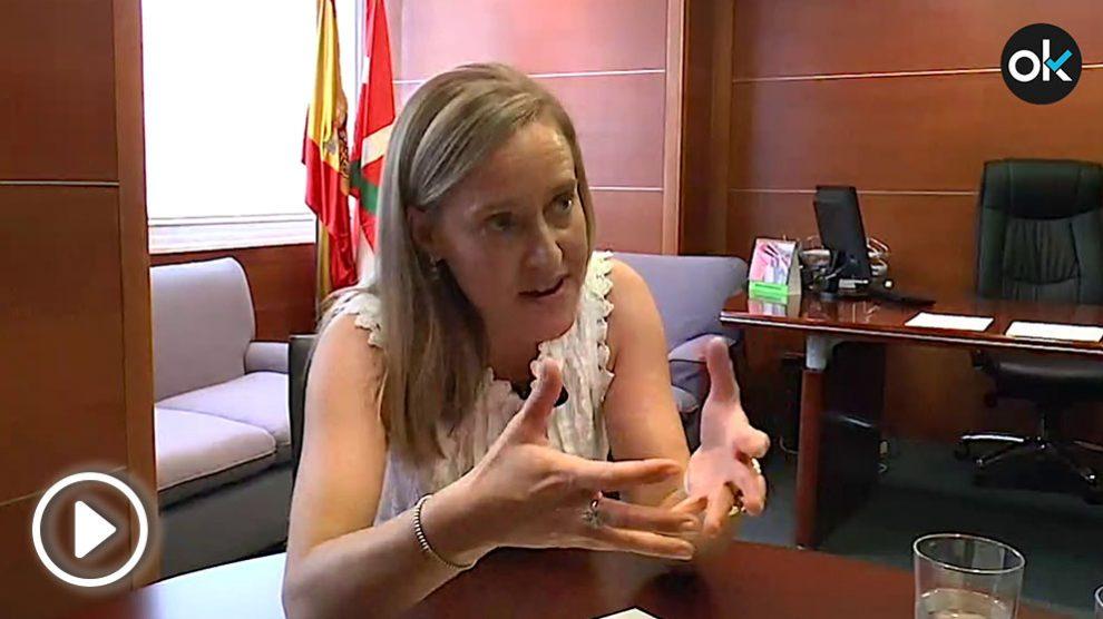 AmayaFernández en la entrevista con OKDIARIO.