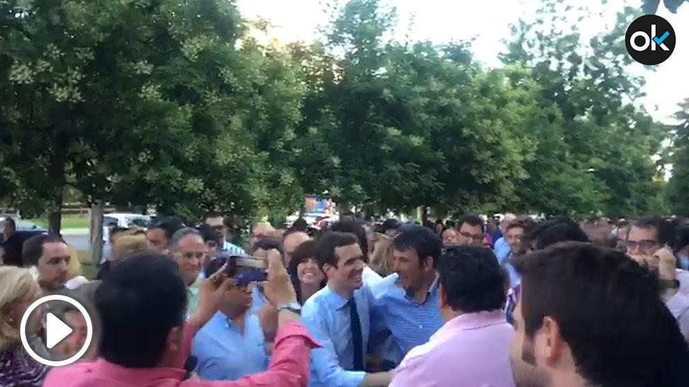 El cierre de campaña de Pablo Casado