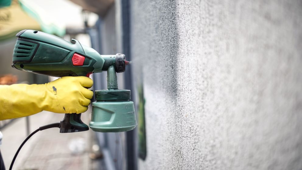 Guía de pasos para pintar una pared con gotelé