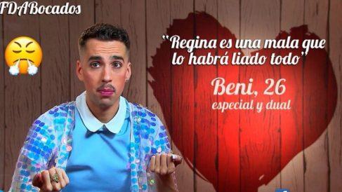 Beni ha tenido una cita extraña en 'First Dates'