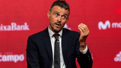 Luis Enrique, durante su presentación como seleccionador. (EFE)