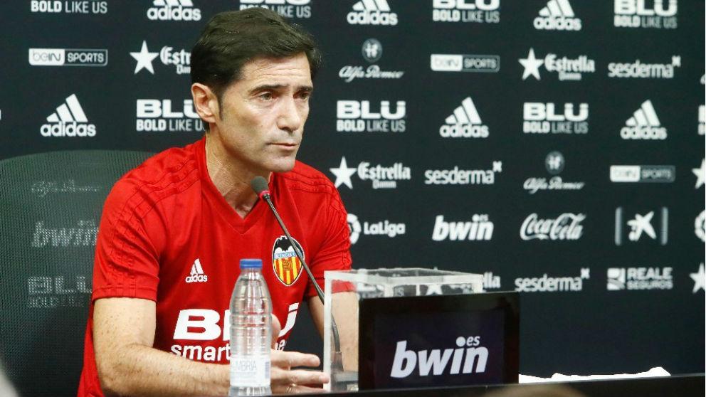 Marcelino García Toral ha renovado con el Valencia hasta 2020. (valenciacf.com)