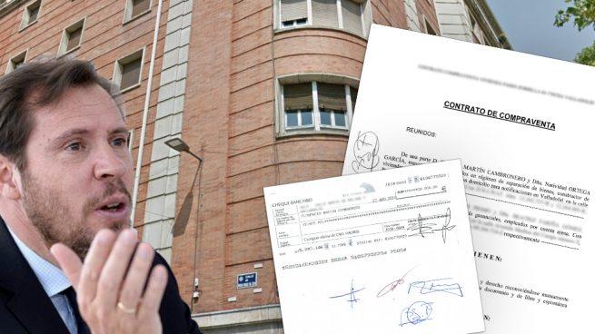 Óscar Puente pagó 290.000 euros por un pisazo sobre el que ya existía un contrato de arras de otro comprador.