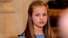 El curioso motivo por el cual la princesa Leonor siempre lleva trenzas