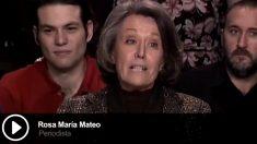 La periodista Rosa María Matero hizo campaña por Rubalcaba para las generales de 2011