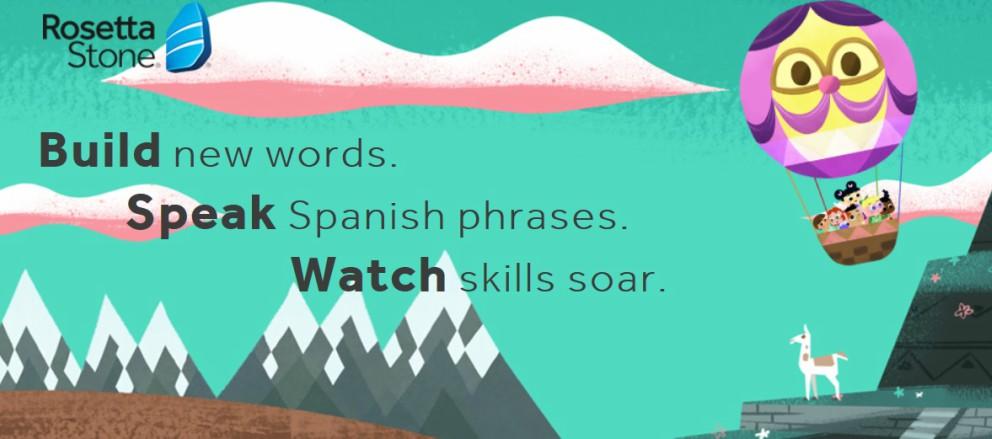 les enfants apprennent l'anglais
