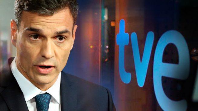 Sánchez busca ahora la seguridad de TVE: purgas, manipulaciones y la peor audiencia de la historia