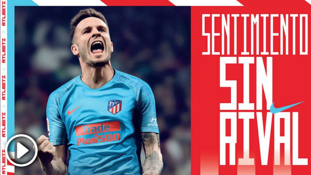 El Atlético se decanta por el azul celeste para su segunda equipación 7d8d0fe94ce6b