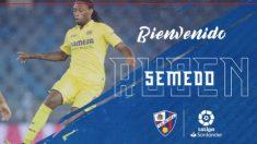 Ruben Semedo, nuevo jugador del Huesca. (SDHuesca)