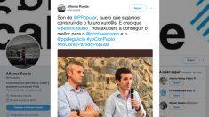 Tuit de Alfonso Rueda.