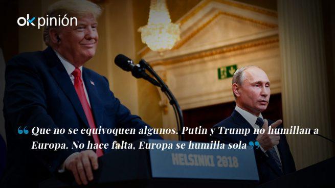 Putin y Trump: dos hombres y un destino