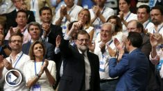 Mariano Rajoy, aclamado por el congreso que elige a su sucesor