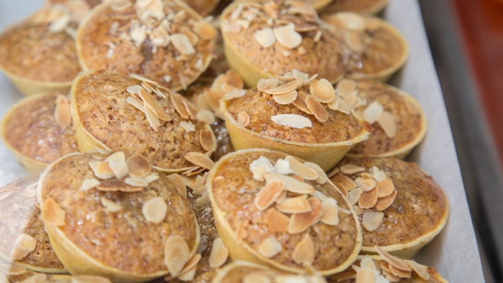 Receta de pastelitos de almendra