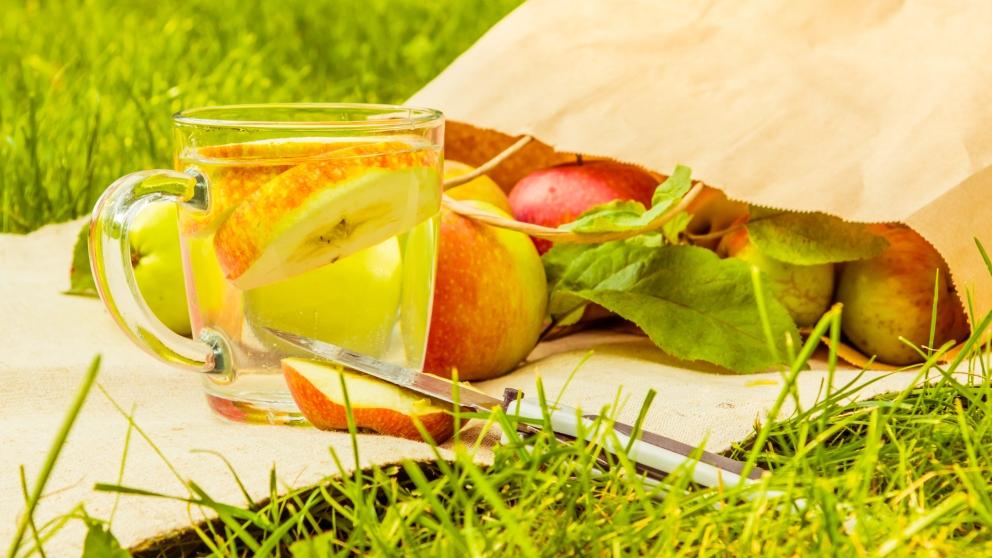 Receta de sidra de manzana casera