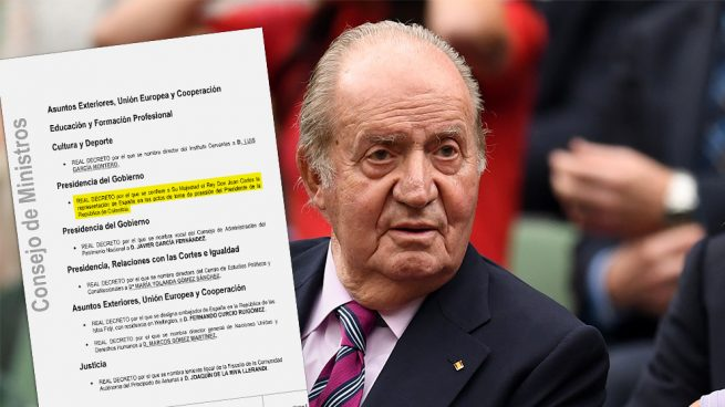 Otro «error» del Consejo de Ministros: envía al rey Juan Carlos a un acto oficial en Colombia y luego lo anula