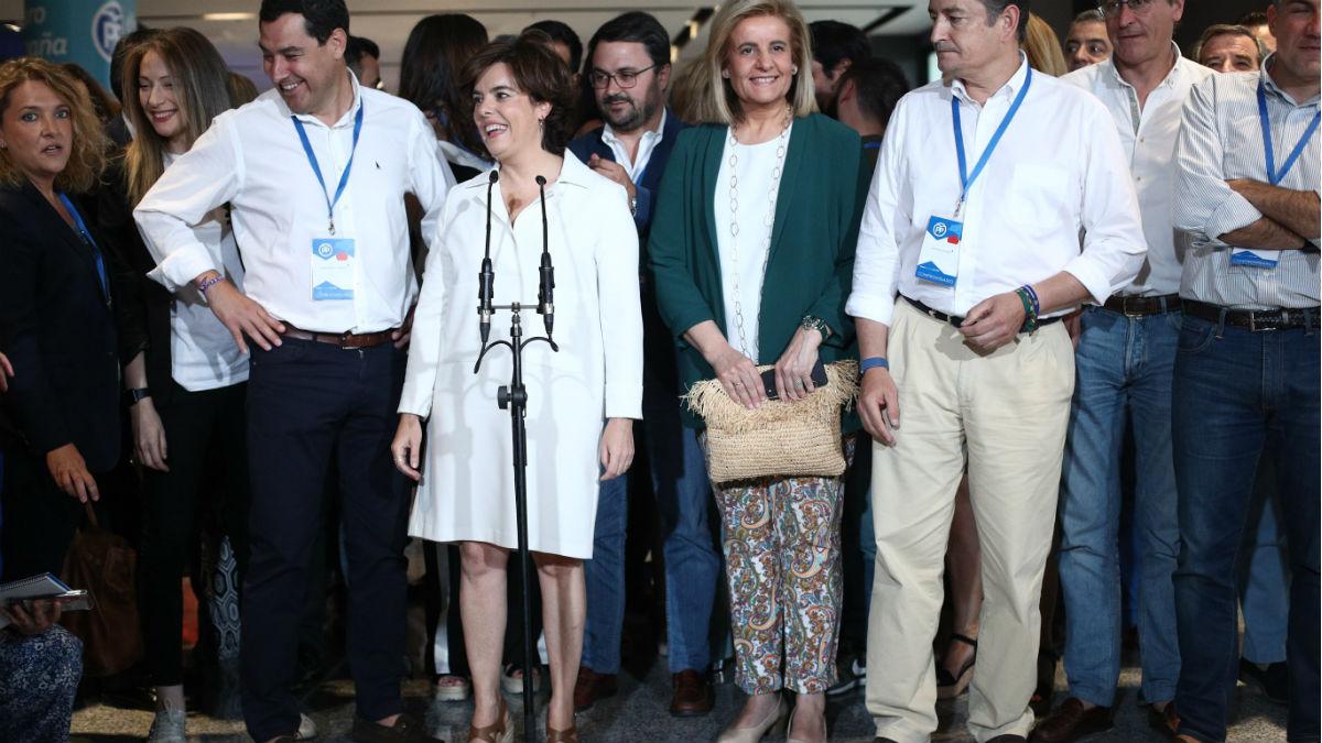 Soraya Sáenz de Santamaría (Europa Press).