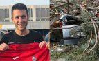 Un jugador del Rayo Ibense, en estado grave tras caerle un árbol encima