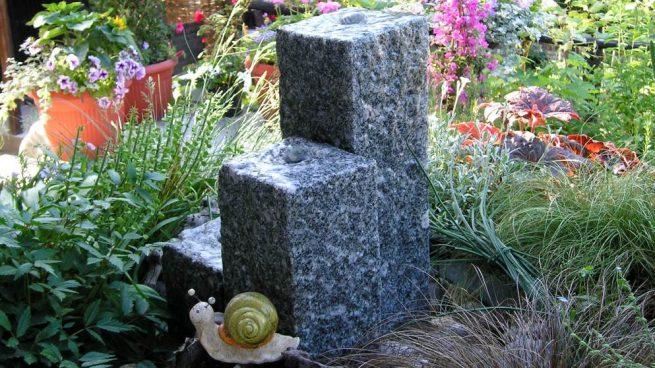 C mo hacer una fuente de agua para el jard n paso a paso - Como hacer una fuente de jardin ...