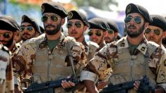 Guardia revolucionaria de Irán.