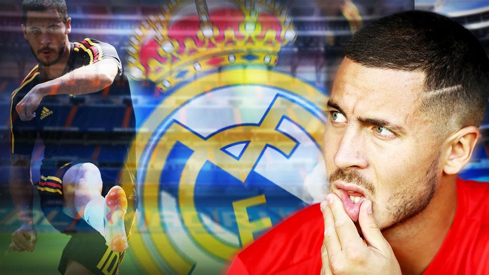 Hazard sólo quiere jugar en el Madrid.