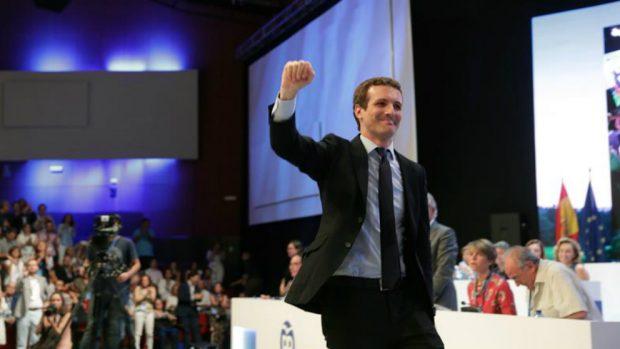 Pablo Casado en el Congreso del PP. Foto: EFE