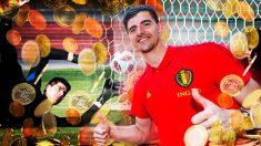El Madrid comprará a Courtois por la mitad de su valor de mercado.