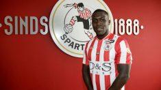 Drenthe, nuevo jugador del Sparta de Rotterdam. (Sparta de Rotterdam)