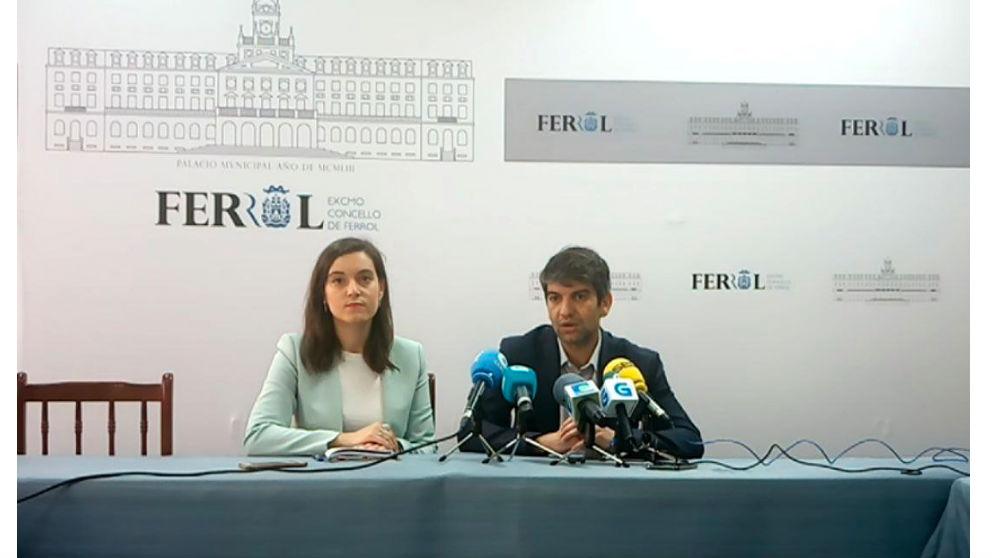 Jorge Suárez, alcalde de Ferrol.