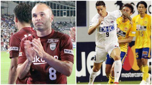 Iniesta y Torres debutaron en Japón. (AFP)
