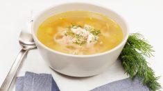 Receta de sopa de tallarines