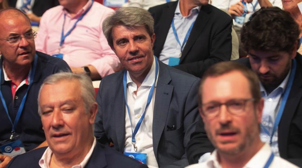 Ángel Garrido este fin de semana en el congreso del PP. (Foto. PP)