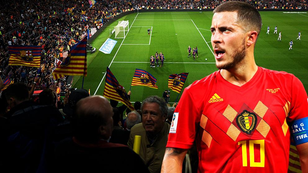 El Barcelona se entromete en el fichaje de Hazard.