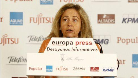Consuelo Madrigal, ex fiscal general del Estado. (EP)
