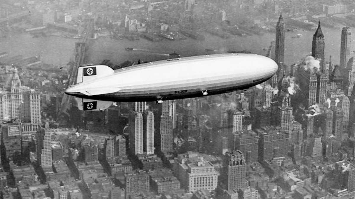 El desastre del dirigible Hindenburg, así fue