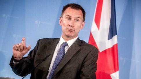 Jeremy Hunt, ministro de Exteriores de Reino Unido. (AFP)