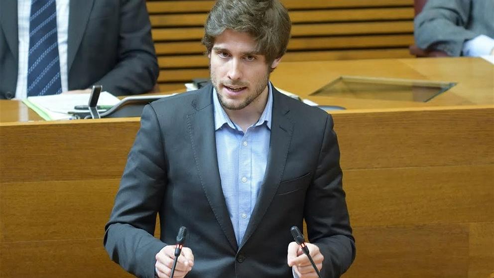 Juan Carlos Caballero, portavoz del PP valenciano en temas de juventud. (EP)