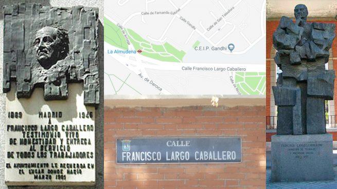 Carmena retira placas franquistas pero mantiene dos estatuas y una calle al Lenin español