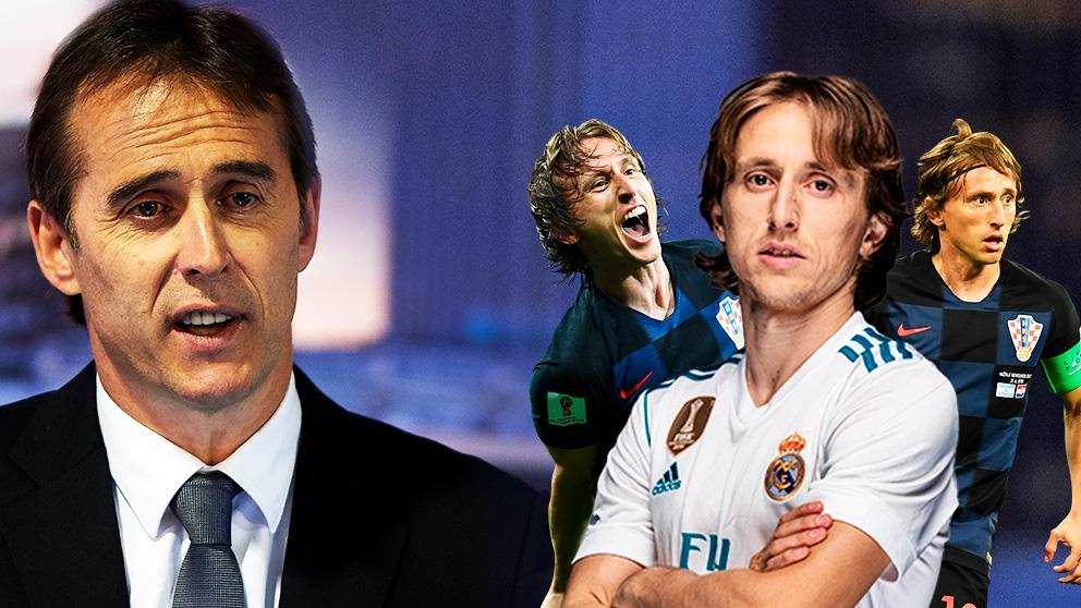 Lopetegui seguirá el plan de Zidane con Modric.