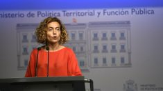 Meritxell Batet, ministra de Política Territorial. (EP)