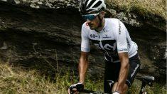 Moscon durante una etapa del Tour de Francia. (AFP)